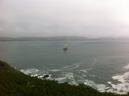 Tall Ship in Bodega Bay